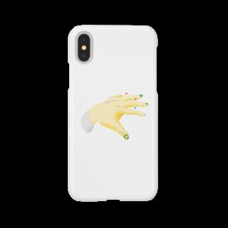 Yopsymiの手と船 Smartphone cases