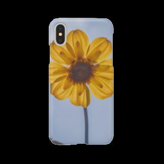 サンショク.の黄色い花 Smartphone cases