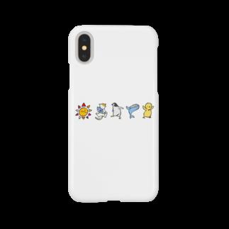 さくらの全員集合 Smartphone cases
