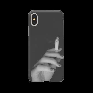 fukumototasukuの煙草と手 Smartphone cases