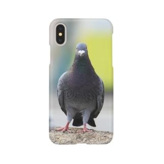 可愛い鳩 Smartphone cases