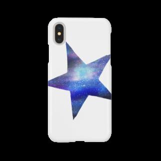 chicodeza by suzuriのスター銀河 Smartphone cases