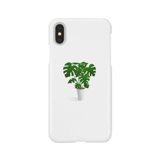 モンステラ Smartphone cases