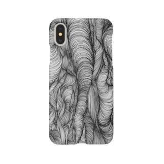 悩みの渦 Smartphone cases