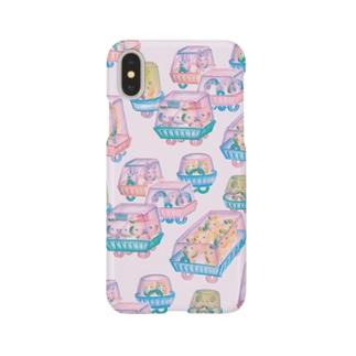オソーザイカー・モーニング Smartphone cases