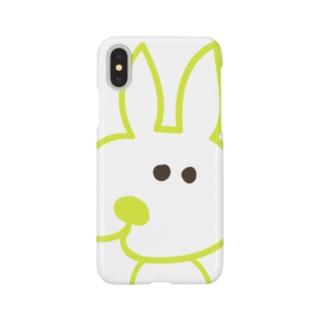 寄り目うさぎ 002 Smartphone cases