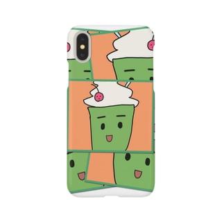くりーむそーだ Smartphone cases