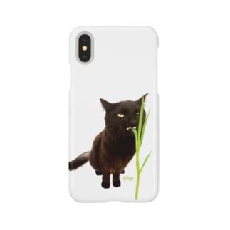 """黒猫 """"Tango"""" gatto nero   Smartphone cases"""