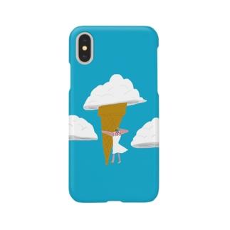 入道クリーム Smartphone cases