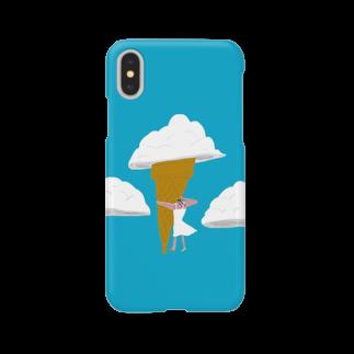 明季 aki_ishibashiの入道クリーム Smartphone cases