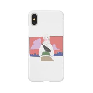 街の女 Smartphone cases