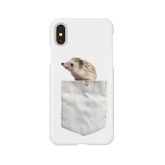 ポケットからハリネズミ Smartphone cases