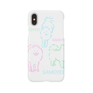 SAMOYED いぬ サモエド Smartphone cases
