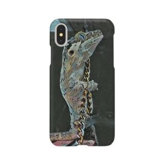 黄昏ガーゴイルゲッコー Smartphone cases