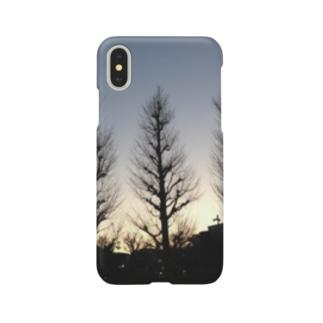 冬の木 Smartphone cases