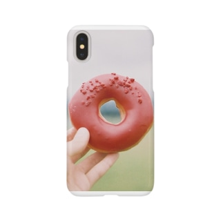 red donuts Smartphone cases