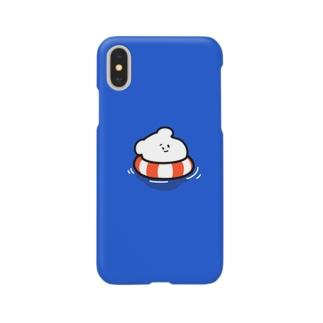プカプカしろくま Smartphone cases