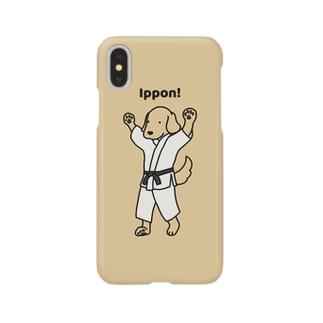 judo1(イエロー) Smartphone cases