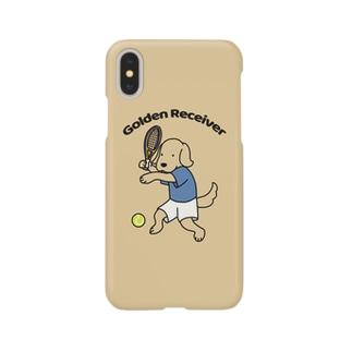 テニス(イエロー) Smartphone cases