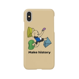 スポーツクライミング(イエロー) Smartphone cases