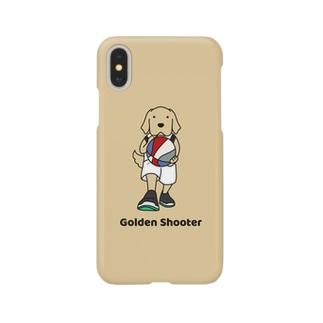 バスケット2(イエロー) Smartphone cases