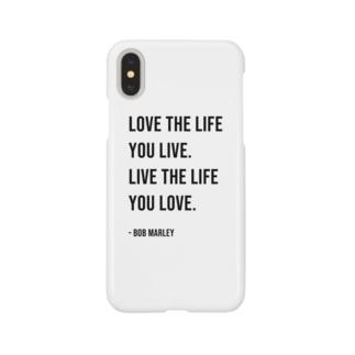 Hello BoB Marley `LOVE LIFE!!` Smartphone cases