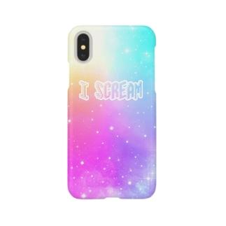 I Scream Universe Pale Rainbow Smartphone cases