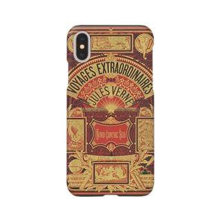 ヴェルヌ「北対南」<ブック・デザイン> Smartphone cases