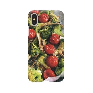 焼いた野菜たち Smartphone cases
