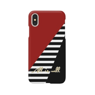 All is well Bordeaux Border Smartphone cases
