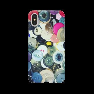 cozcozのぼたん Smartphone cases
