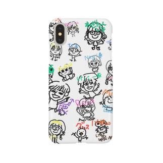 鹿専用モブ子オールスターズ Smartphone cases