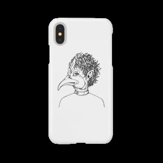 m_kyawarai_mのミニーレoui oui  9 パッケージデザイン /近藤有稿さんデザイン Smartphone cases