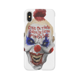 梁川 慶亮 グッズのピエロ Smartphone cases