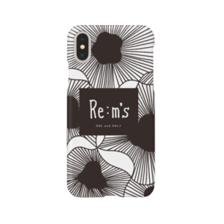 Re:m'sのMONOKURO Smartphone cases
