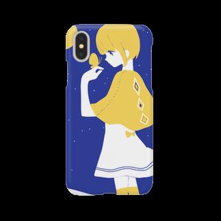 もりもりの森の黄色い蝶 Smartphone cases