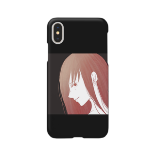 erikaのcolor(red) Smartphone cases