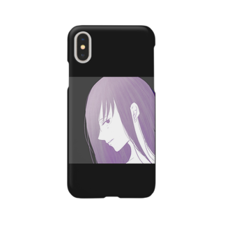 erikaのcolor(purple) Smartphone cases