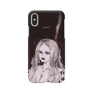 Ran.のHeart. Smartphone cases