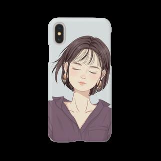 nishi_unikaの丸の内OL Smartphone cases