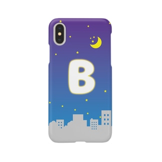 頭文字 夜景(B) Smartphone cases