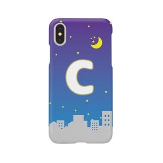 頭文字 夜景(C) Smartphone cases