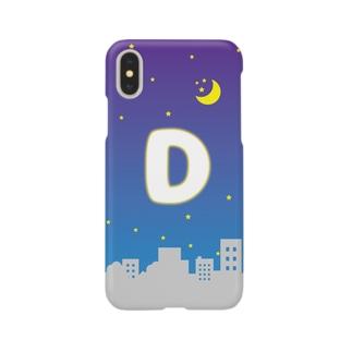 頭文字 夜景(D) Smartphone cases