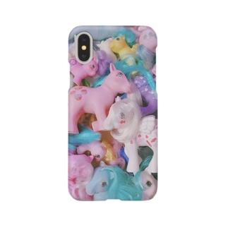 ポニーさん Smartphone cases