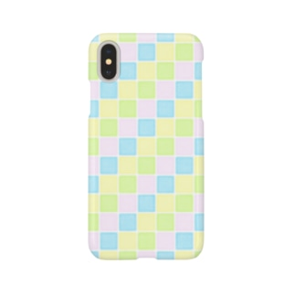 pastel tile - colorful - Smartphone cases