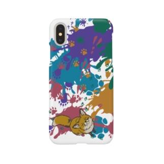 animal tracks Smartphone cases