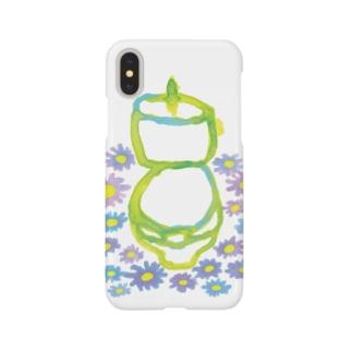 マーガレットトイレ【はつか】 Smartphone cases