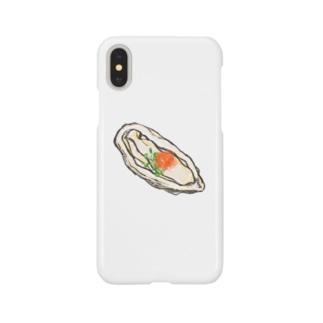 生牡蠣 Smartphone cases