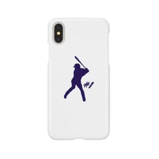 バッティングロゴ Smartphone cases