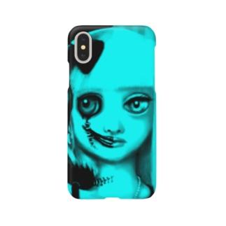 はんぶんこ Smartphone cases